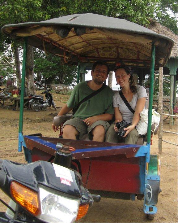 Cambodian tuk tuk!
