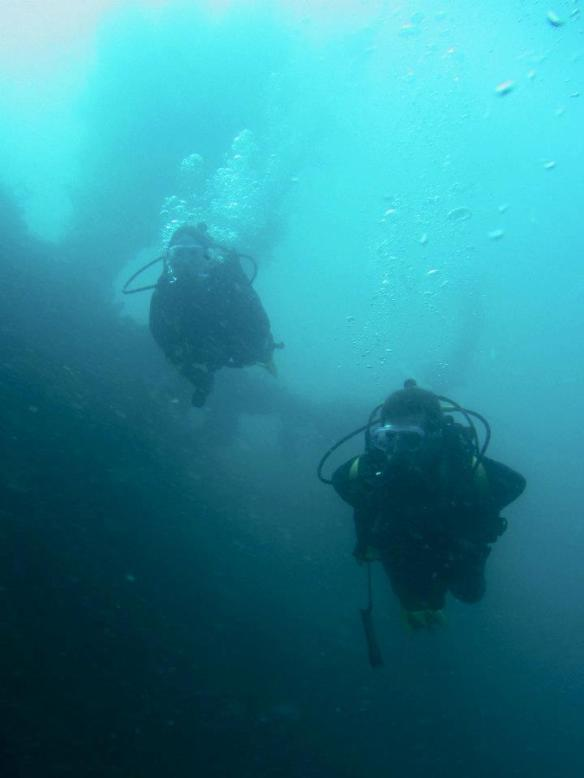 Wreck diving in the Philippines